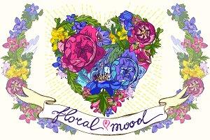 Floral mood