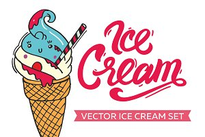 Ice Cream - Vector Set