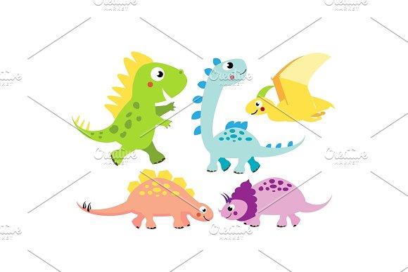 Cute Dinos Cartoon Dinosaur