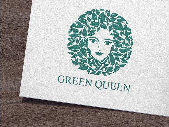 Green Queen Logo