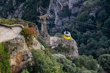 Cableway to the sanctuary