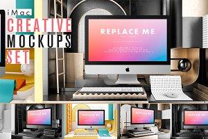 iMac Creative Mockups Set