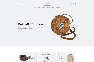 Nokshi - Handmade & Craft Bootstrap4