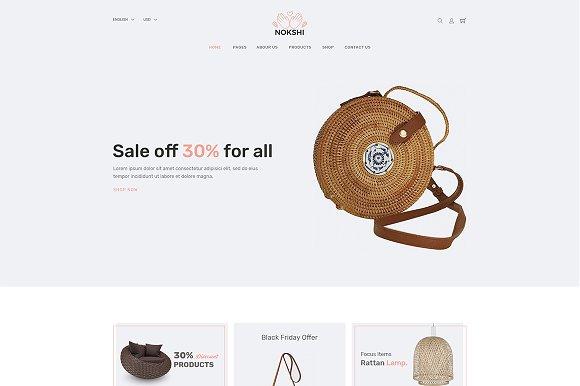 Nokshi Handmade Craft Bootstrap4