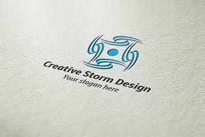 Creative Storm Design Logo