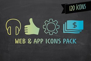Web & App Icons Pack - Jabana