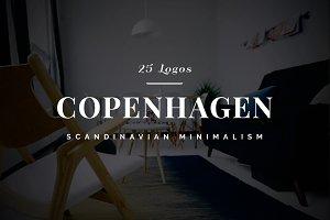 Copenhagen - 25 Minimalistic Logos