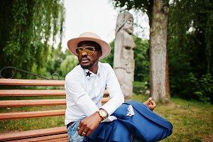 rich african man