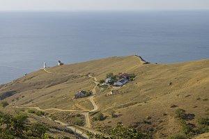 Slopes of the cape Meganom, Crimea