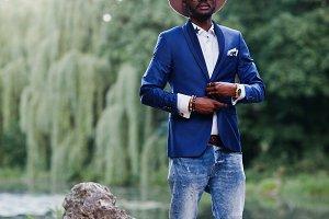Stylish man african