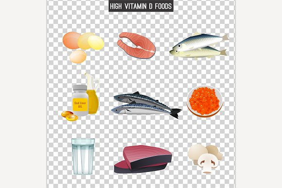 Vitamin D In Food