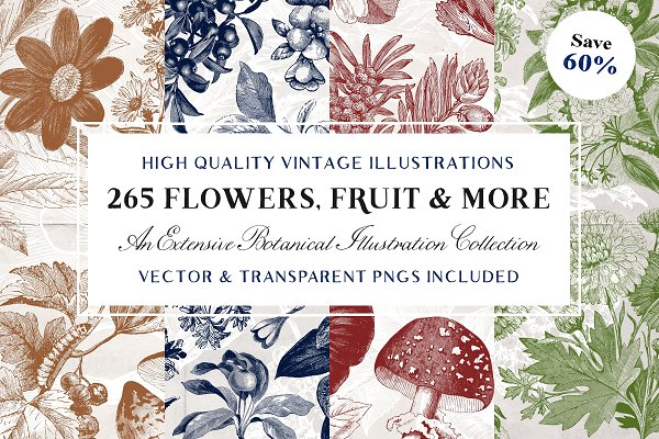 The Vintage Flowers & More Bundle