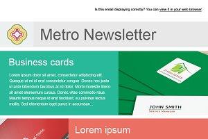 Metro Email Newsletter