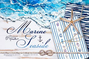 Marine Seaside Nautical set