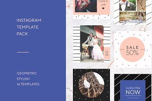 Social Media/Instagram template