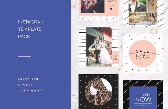Social Media Instagram Template