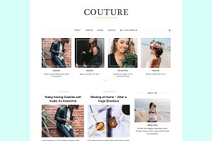 Couture Grid Wordpress Theme