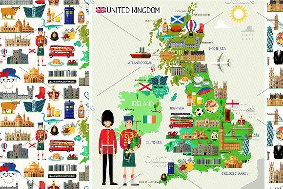United Kingdom Travel Set