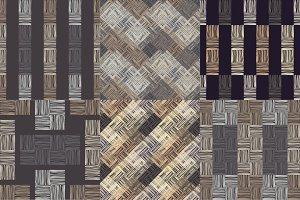 Brown floor with wooden texture.