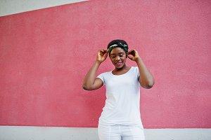 stylish african american girl