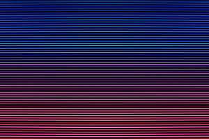 Horizontal blue and pink retro arcade lines texture background
