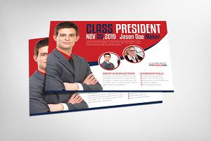 Class President Flyer Template