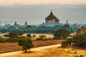 Thatbyinnyu temple in Bagan, Myanmar
