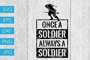 Soldier SVG Veteran SVG 4th of July