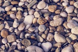 Little colorfull stones detail