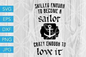 Sailor SVG Navy Army SVG Veteran SVG