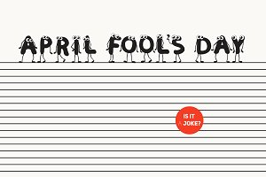 April Fool's Day Characters