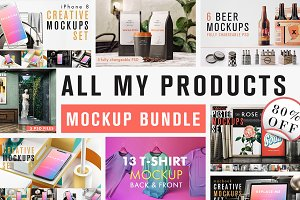 All Products MockUp Bundle