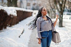 African american girl model