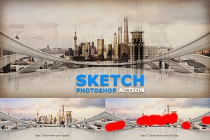 Sketch Photoshop Action