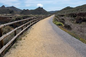 The green way of Lucainena