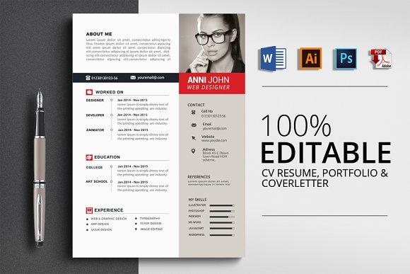 MS Word Professional CV Resume