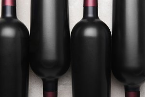 Cabernet Wine Bottles