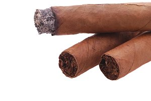 Three Cigars