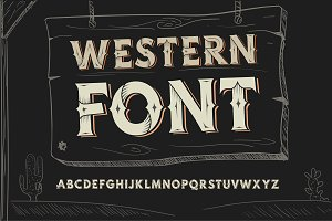 Vector OTF font for logotype.