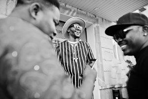 Three african american guys