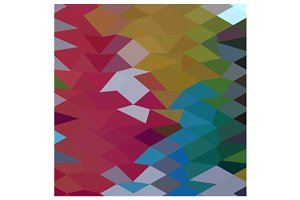 Maroon Abstract Low Polygon Backgrou