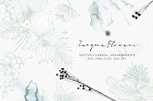 Imagine Flowers by Webvilla in Illustrations