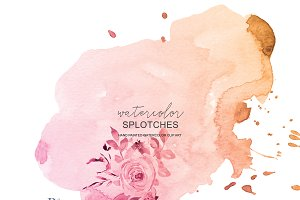 Watercolor Blush Backgrounds