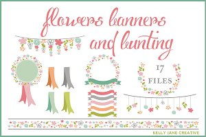 Flowers, Ribbons, Banners & Bunting