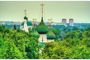 Church of the Savior in the City in Yaroslavl, Russia
