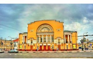 Volkov drama theatre in Yaroslavl, Russia