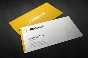 Creative Corporate Business Card 02