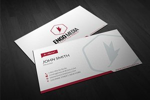 Creative Corporate Business Card 04