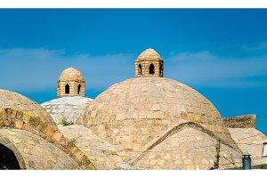 Toki Zargaron, ancient trading domes in Bukhara, Uzbekistan