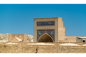 Buildings in the medieval town of Bukhara, Uzbekistan